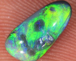 0.75ct 9.5x4.8mm Solid Lightning Ridge Dark Opal [LO-1108]