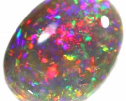 5.15 CTS SEMI BLACK OPAL DOUBLE SIDES LIGHTNING RIDGE [LRO229]SAFE