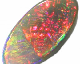 1.30 CTS SEMI BLACK OPAL LIGHTNING RIDGE [LRO234]SAFE2