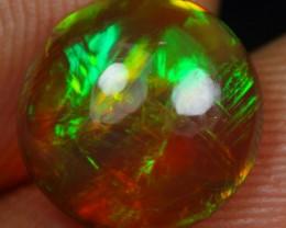 2.40cts Neon Chaff Fire Pattern Ethiopian Opal