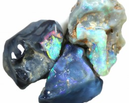 48.05 CTS FACED ROUGH CARVING PARCEL -LIGHTNING RIDGE WYOMING [BR6530]