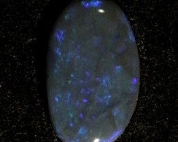 0.75ct Black Lightning Ridge Opal