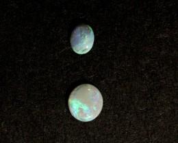 2.25ct parcel of 4 Lightning Ridge ring stones