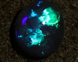 0.55ct Black Opal from Lightning Ridge