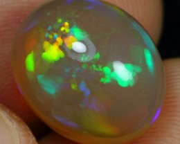 7.60cts NEON CASCADE PATTERN Natural Ethiopian Welo Opal