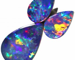 2.53 CTS OPAL DOUBLET 3 SET- CALIBRATED [SEDA1466]