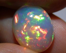 3.15 ct Gem Quality Full Gem Rainbow Welo Cab