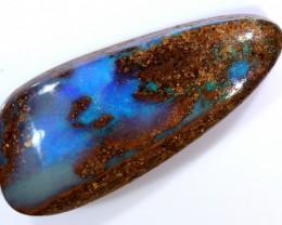 12ct 25x11mm Pipe Wood Fossil Boulder Opal  [LOB-1801]