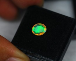 1.05Ct Natural Ethiopian Welo Faceted Opal Lot K93