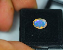 1.03Ct Natural Ethiopian Welo Faceted Opal Lot K97