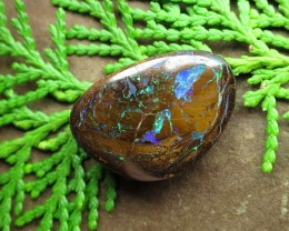 "37cts,""BOULDER MATRIX OPAL~GEM!"""