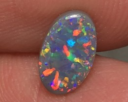 1.27ct Lightning Ridge Dark Opal LRS464