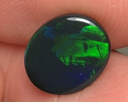 3.05ct Lightning Ridge Gem Black Opal LRS419