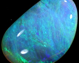 CRYSTAL  TRANSCLUCENT OPAL FROM DOWN UNDER L.RIDGE CABOCHON A2094