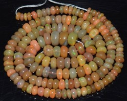 52.50 Ct Natural Ethiopian Welo Opal Beads Play Of Color OA7