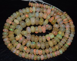 51.95 Ct Natural Ethiopian Welo Opal Beads Play Of Color OA8