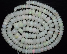 48.65 Ct Natural Ethiopian Welo Opal Beads Play Of Color OA18