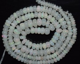 40.95 Ct Natural Ethiopian Welo Opal Beads Play Of Color OA22