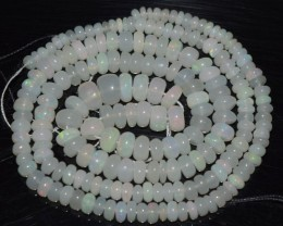 41.60 Ct Natural Ethiopian Welo Opal Beads Play Of Color OA30