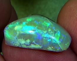 5.00 cts Australian Coober Pedy FLASH fossil opal N7 4/5