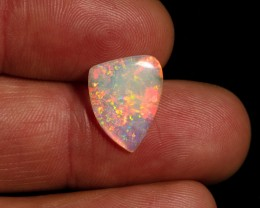 1.90 carat Mintabie crystal opal free form red fire