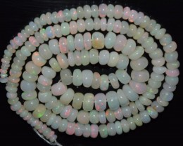 55.90 Ct Natural Ethiopian Welo Opal Beads Play Of Color OA70