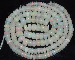 44.00 Ct Natural Ethiopian Welo Opal Beads Play Of Color OA83