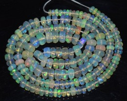 44.05 Ct Natural Ethiopian Welo Opal Beads Play Of Color OA98