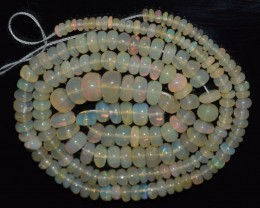 44.10 Ct Natural Ethiopian Welo Opal Beads Play Of Color OA102
