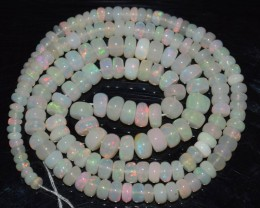 47.45 Ct Natural Ethiopian Welo Opal Beads Play Of Color OA115