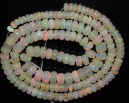 48.25 Ct Natural Ethiopian Welo Opal Beads Play Of Color OA117