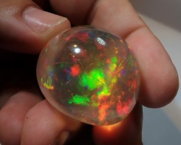 150ct Blazing Massive Water Transparent Museum Grade Welo Opal Awesome Welo