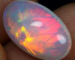 5.05cts Unique Chaff Pattern Ethiopian Opal