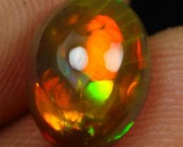 2.15cts Neon Fire Bumblebee Pattern Ethiopian Opal