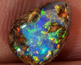 1.9ct 10x7mm Queensland Boulder Opal  [LOB-1827]