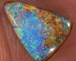 3.6ct 13x10mm Pipe Wood Fossil Boulder Opal  [LOB-1828]