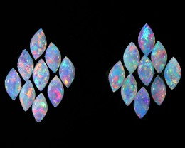 1.72CTS  18PIECES CALIBRATED OPAL PARCEL GREAT COLOR PLAY- S426