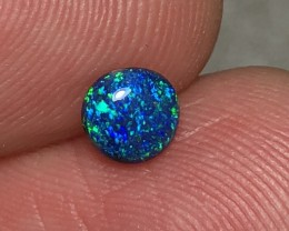 0.40ct Lightning Ridge Gem Black  Opal LRS558