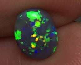 1.76ct Lightning Ridge Gem Dark Opal LRS550