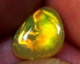 2.90 cts Ethiopian Welo CIRRUS BRUSH STROKES opal N6 4/5