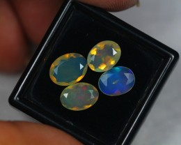 NR#  3.04Ct Ethiopian Welo Faceted Opal Lot LW500