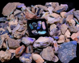 1820.00 CTS MINE ROUGH WITH GAMBLE  AND RUB PIECES [BR6000B]PAR