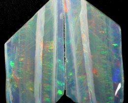 6.40 CTS SLICED  ROUGH OPAL FROM COOBER PEDY [BR6553]safe