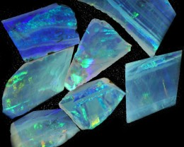 22.50 CTS SLICED  ROUGH OPAL PARCEL FROM COOBER PEDY [BR6573]safe