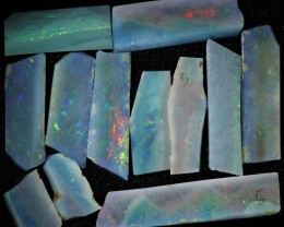 44.52 CTS SLICED  ROUGH OPAL PARCEL FROM COOBER PEDY [BR6577]safe