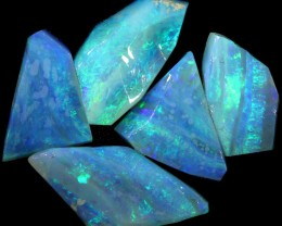 20.00 CTS SLICED  ROUGH OPAL PARCEL FROM COOBER PEDY [BR6581]safe