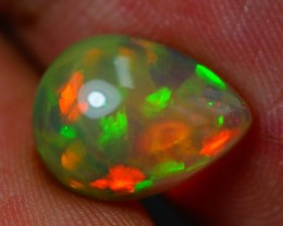 2.11 CT 12X9MM DARK BASE!!FLASHY ETHIOPIAN OPAL-AE188