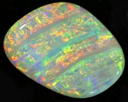 7.35Cts Mintabie Veined Gem opal SU 1520