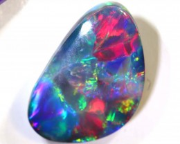 N2-  4.7CTS QUALITY BLACK SOLID OPAL L.RIDGE INV-748