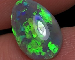 3.36ct Lightning Ridge Gem Dark Opal LRS545